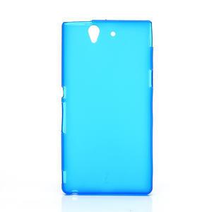 Gelové pouzdro na Sony Xperia Z L36i C6603- modré - 1