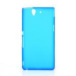 Gelové pouzdro na Sony Xperia Z L36i C6603- modré - 1/7