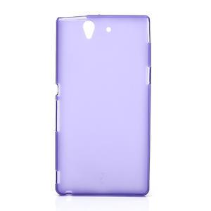 Gelové pouzdro na Sony Xperia Z L36i C6603- fialové - 1