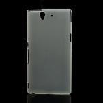 Gelové pouzdro na Sony Xperia Z L36i C6603- transparentní - 1/7
