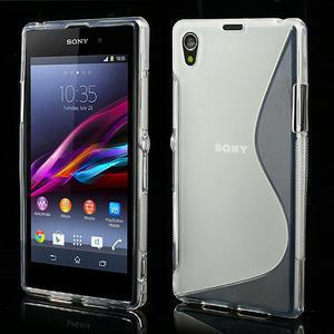 Gelové S-line pouzdro na Sony Xperia Z1 C6903 L39- transparentní - 1