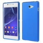 Gelové tenké pouzdro na Sony Xperia M2 D2302 - modré - 1/5