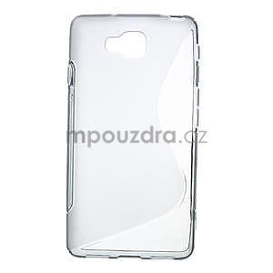 Gelové S-line  pouzdro pro LG Optimus L9 II D605- šedé - 1