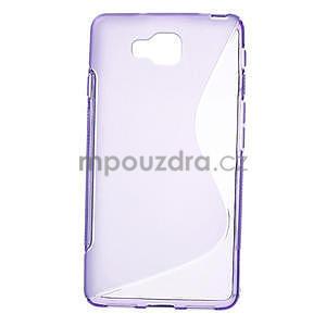 Gelové S-line  pouzdro pro LG Optimus L9 II D605-fialové - 1