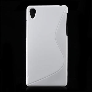Gelové S-line pouzdro na Sony Xperia Z2 D6503- bílé - 1