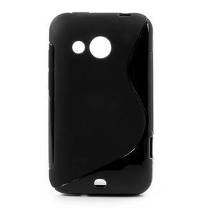 Gelové S-line pouzdro pro HTC Desire 200- černé - 1