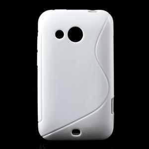 Gelové S-line pouzdro pro HTC Desire 200- bílé - 1