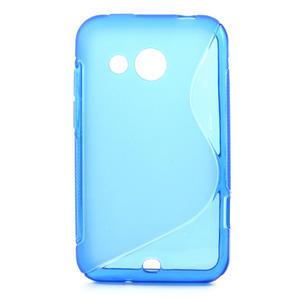 Gelové S-line pouzdro pro HTC Desire 200- modré - 1