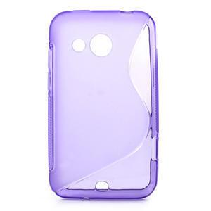 Gelové S-line pouzdro pro HTC Desire 200- fialové - 1