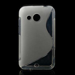 Gelové S-line pouzdro pro HTC Desire 200- transparentní - 1