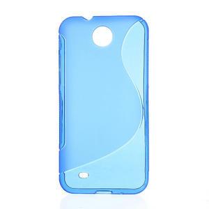 Gelové S-line pouzdro pro HTC Desire 300 Zara mini-modré - 1