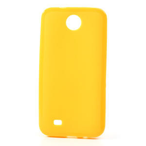 Gelové pouzdro pro HTC Desire 300 Zara mini -žluté - 1