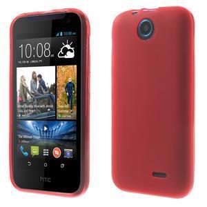 Gelové pouzdro na HTC Desire 310- červené - 1