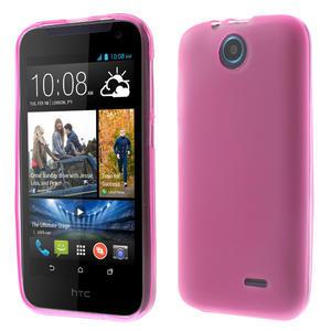 Gelové pouzdro na HTC Desire 310- růžové - 1