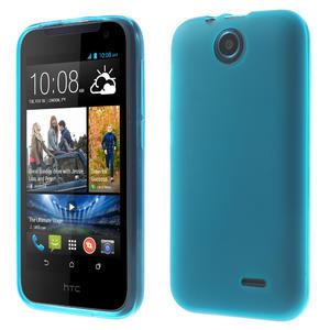Gelové pouzdro na HTC Desire 310- světlemodré - 1