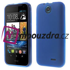 Gelové pouzdro na HTC Desire 310- modré - 1