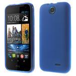 Gelové pouzdro na HTC Desire 310- modré - 1/6