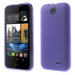 Gelové pouzdro na HTC Desire 310- fialové - 1/6