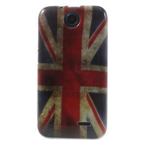 Gelové pouzdro na HTC Desire 310- UK vlajka - 1