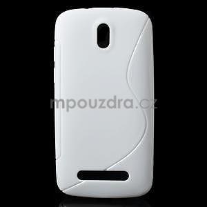 Gelové pouzdro pro HTC Desire 500- bílé - 1