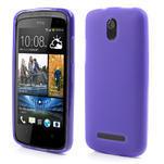 Gelové matné pouzdro pro HTC Desire 500- fialové - 1/5
