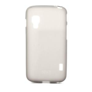 Matné gelové pouzdro pro LG Optimus L5 Dual E455- šedé - 1