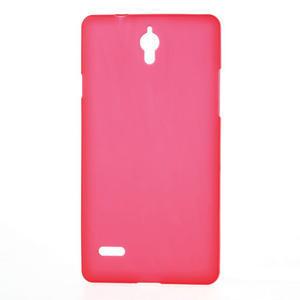 Gelové Cover pouzdro na Huawei Ascend G700- červené