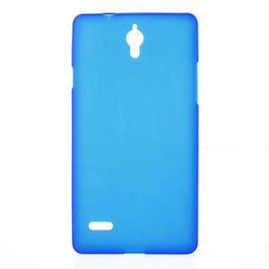 Gelové Cover pouzdro na Huawei Ascend G700- modré