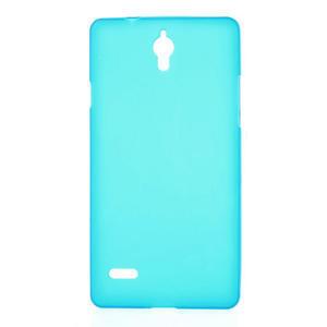 Gelové Cover pouzdro na Huawei Ascend G700- světlemodré