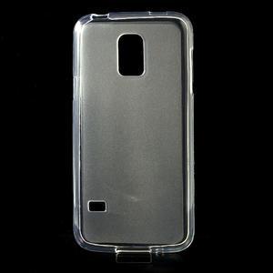 Gelové matné pouzdro na Samsung Galaxy S5 mini G-800- transparentní - 1
