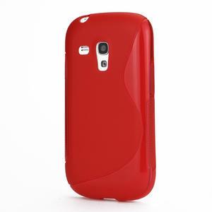 Červené gelové pouzdro pro Samsung Galaxy S3 mini / i8190 - 1