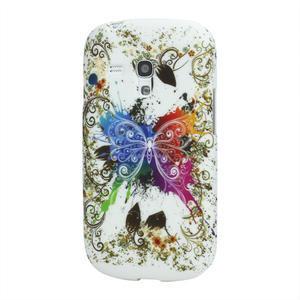 Gelové pouzdro pro Samsung Galaxy S3 mini i8190- motýl - 1