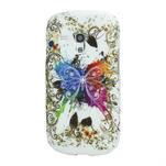 Gelové pouzdro pro Samsung Galaxy S3 mini i8190- motýl - 1/4