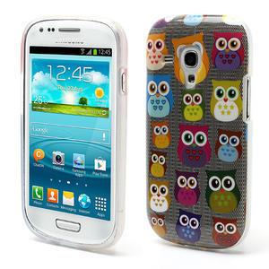 Gelové pouzdro pro Samsung Galaxy S3 mini / i8190 - mini Sovy - 1