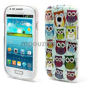 Gelové pouzdro pro Samsung Galaxy S3 mini / i8190 - mini Sovy II - 1