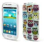 Gelové pouzdro pro Samsung Galaxy S3 mini / i8190 - mini Sovy II - 1/5
