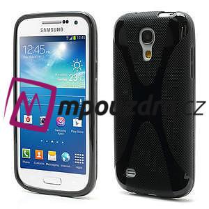 Gelové X pouzdro pro Samsung Galaxy S4 mini i9190- černé - 1