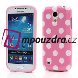 Gelový Puntík pro Samsung Galaxy S4 mini i9190- světlerůžové - 1