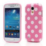 Gelový Puntík pro Samsung Galaxy S4 mini i9190- světlerůžové - 1/6