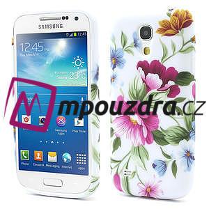Gelové pouzdro pro Samsung Galaxy S4 mini i9190- květinka - 1