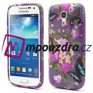 Gelové pouzdro pro Samsung Galaxy S4 mini i9190- květ pivoňky - 1