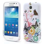 Gelové pouzdro pro Samsung Galaxy S4 mini i9190- kruhový motýl - 1/5