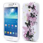 Gelové pouzdro pro Samsung Galaxy S4 mini i9190- vlající motýl - 1/6