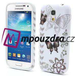 Gelové pouzdro pro Samsung Galaxy S4 mini i9190- elegantní motýl - 1