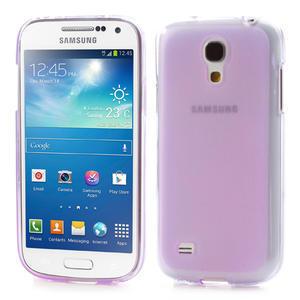 Gelové pouzdro na Samsung Galaxy S4 mini i9190- fialové - 1