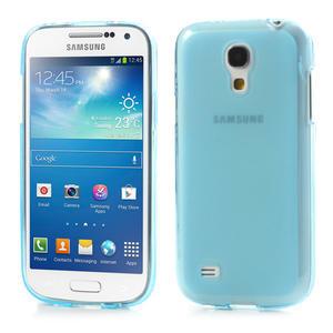 Gelové pouzdro na Samsung Galaxy S4 mini i9190- modré - 1