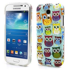 Gelové pouzdro na Samsung Galaxy S4 mini i9190- krásné sovy - 1