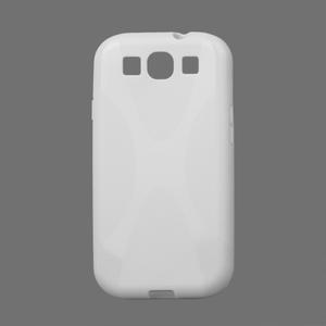 Gelové pouzdro pro Samsung Galaxy S3 i9300  - X-line bílé - 1