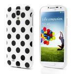 Gelové Puntík pouzdro na Samsung Galaxy S4 i9500- bílé - 1/6