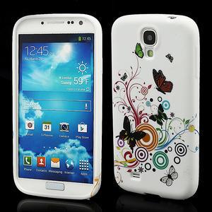 Gelové pouzdro pro Samsung Galaxy S4 i9500- motýl color - 1